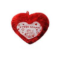 "Мягкая игрушка ""Сердце красное"" муз."