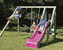 Детские качели с горкой Blue Rabbit DECKSWING, фото 3