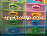 """Комод-органайзер """"Mini Medium"""", пластиковый на 4 секции, разноцветный, фото 4"""