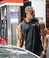 """Мужская жилетка с капюшоном """"GA Fitness Wolf"""""""