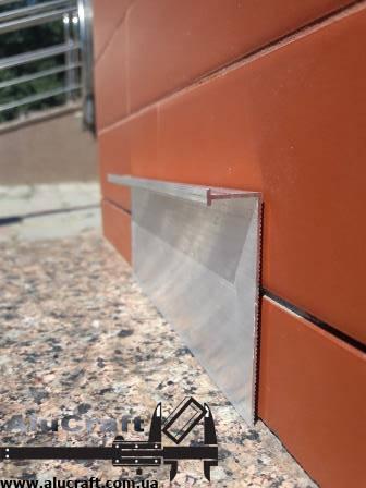 Плинтус под гипсокартон 70мм / б.п L-3.0 мп, фото 2