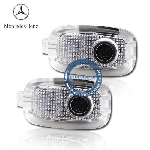Welcome light with LOGO Mercedes-Benz C-class LED