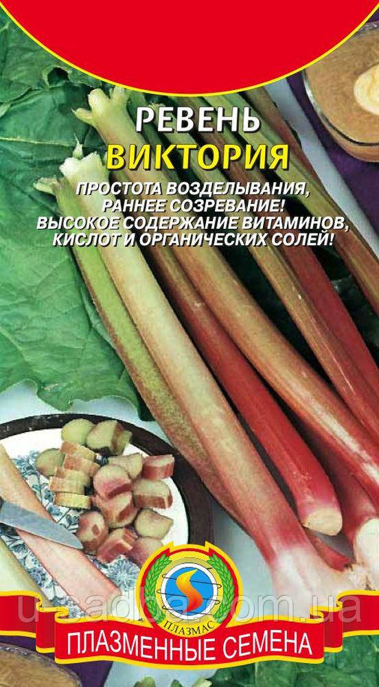 Семена салата Ревень Виктория 0,5 г  (Плазменные семена)