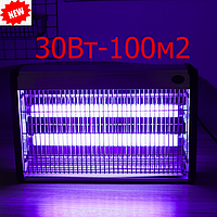 Антимоскитный светильник  2х15Вт G13 100м2