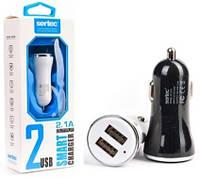 АЗУ 2USB для IPHONE 5 SERTEC ST-216 BLACK/WHITE