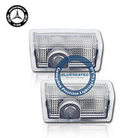 Welcome light with LOGO Mercedes-Benz E-class LED