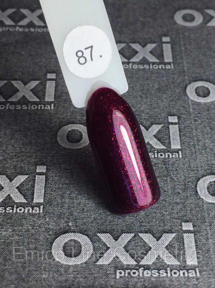 Гель-лак Oxxi Professional № 87