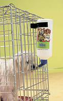Поилка бутылка в клетку с креплением (Savic Pet Bottle) (поилка сухие усы), 1литр