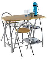 Комплект кухонный компактный (стол + 2 стула)