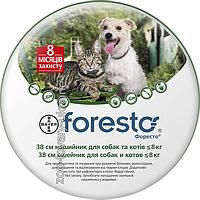 Foresto (Форесто) ошейник для собак и котов от блох и клещей, 38 см