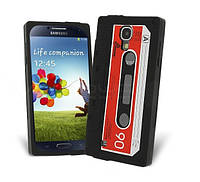 "Чехол для телефона Samsung I9500 Galaxy S4 ""Ретро кассета"""