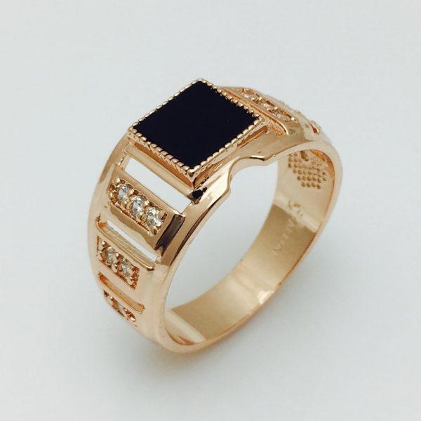 Перстень мужской Тартар, размер 19, 22 ювелирная бижутерия