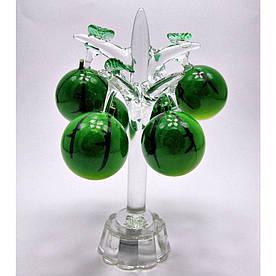"""Дерево """"Арбуз"""" хрусталь (6 плодов)(15,5х8,5х8,5 см) 18274"""