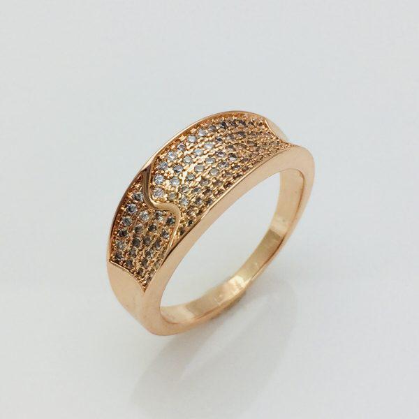 Кольцо Fallon Альфа, размер 17, 19 ювелирная бижутерия