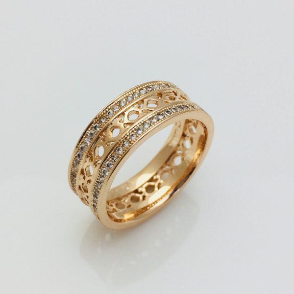 Кольцо женское Fallon, Спокойная Роскошь размер 18, 19, 20, 21, 22 ювелирная бижутерия