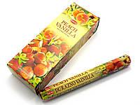 Peach vanilla (hem)(6/уп) шестигранник аромапалочки