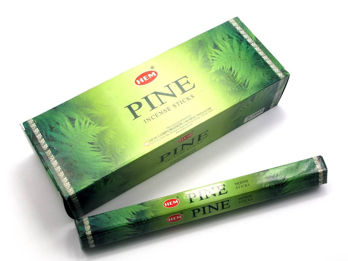 Pine (сосна)(hem)(6/уп) шестигранник аромапалочки