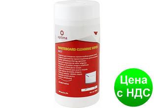 Салфетки для очистки досок Optima NEO, 100 шт., круглая туба O72622