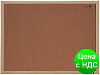 Доска пробковая Optima, размер 30х45 см, MDF рамка O75145