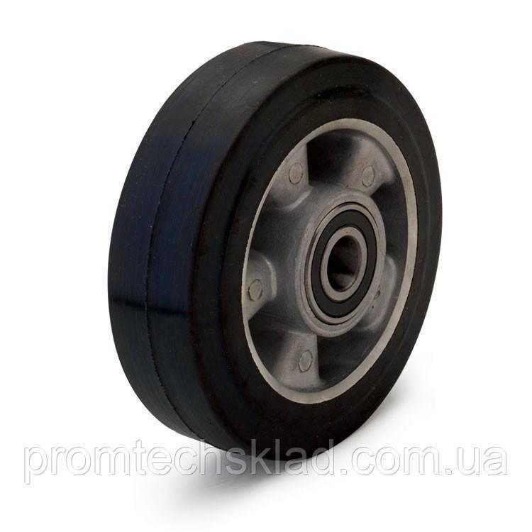 Колесо з еластичної гуми без кронштейна діаметром 250 мм Україна