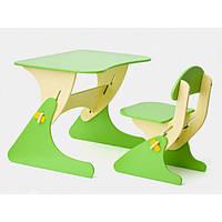 Детский стол и стул с регулировкой по высоте SportBaby KinderSt-1