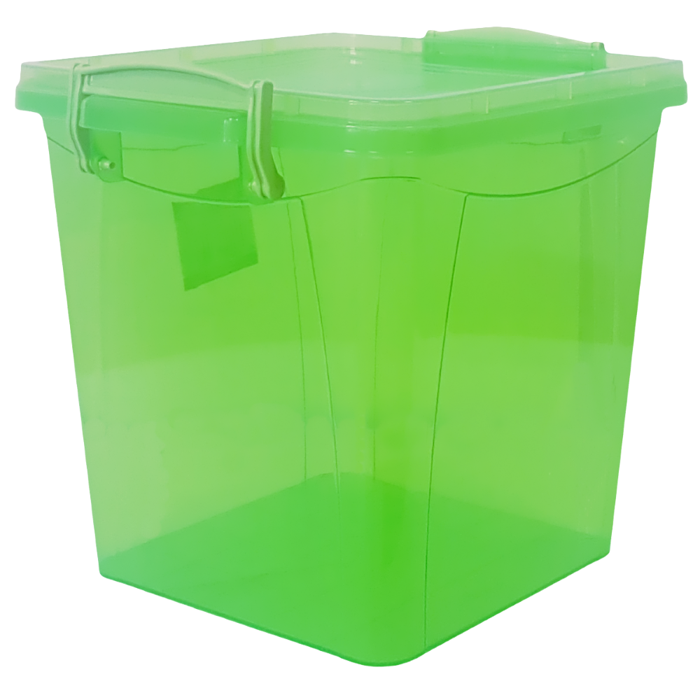 Контейнер на защелках 3,7 л зеленый