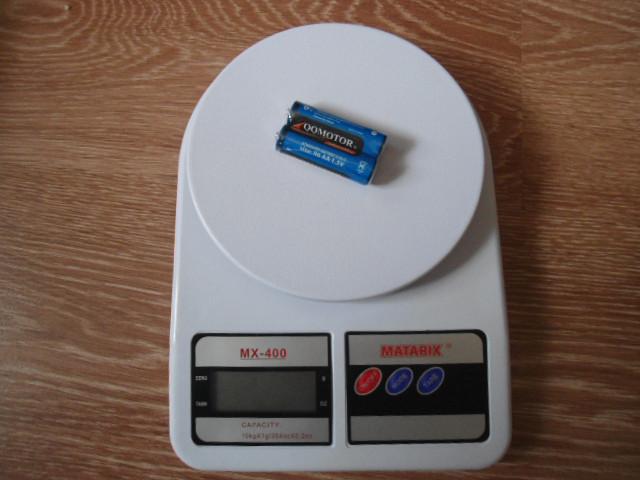 Весы кухонные MX-400 (10 кг) + батарейки