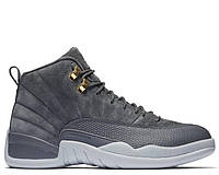 "Баскетбольные кроссовки Air Jordan 12 ""Grey/White"" Арт. 3231"