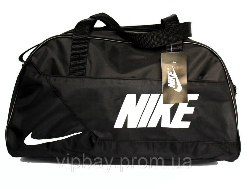 Спортивна сумка чорного кольору репліка Nike (051-ч)