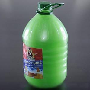 Мыло жидкое для рук яблочное 5 л. с перламутром Шериф