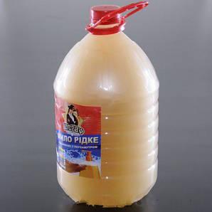 Мыло жидкое для рук малина 5 л. с перламутром Шериф