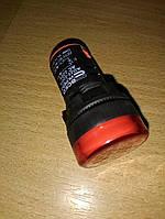 Арматура светосигнальная AD22-22DS красная 220V АC