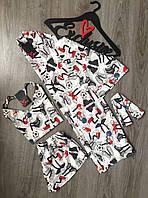 Одежда для дома,комплект халат майка шорты