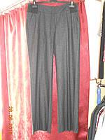 Зимние серые брюки с широкими  резинками на поясе Sinequanone, фото 1