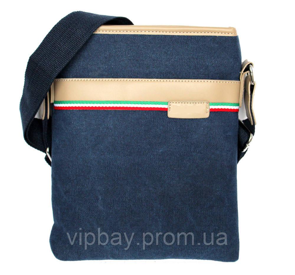 Очень модная мужская джинсовая сумка (54203 Д)