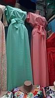 Привлекательное платье в пол в ассортименте