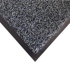 Нейлоновый грязезащитный коврик Бронкс . 120*150 серый
