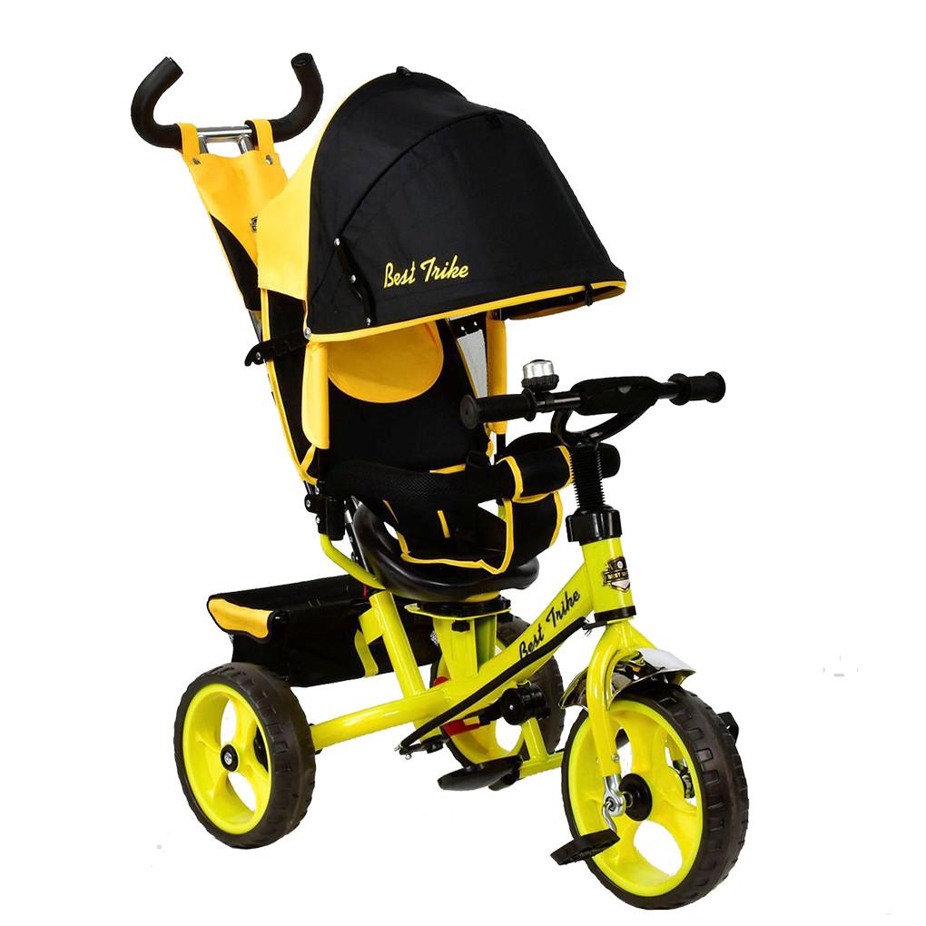 Bелосипед трехколесный Best Trike 5700 - 4890 Желтый 65702