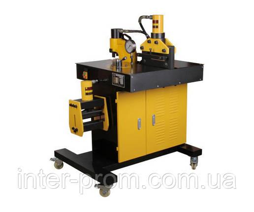 Станок гидравлический СРШ-200 (VHB) для резки, гибки и перфорации токопроводящих шин (), фото 2