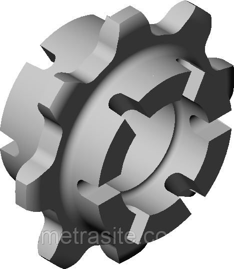 Зірочка Z=8 СЗГ 00.211