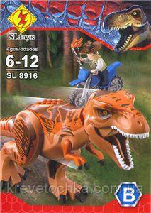 Лего Конструктор Jurassic World тирекс SL8916-B, фото 2