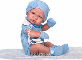 Куклы Antonio Juan R.N.  TOQUILLA NICO (Новорожденный мальчик в конверте)