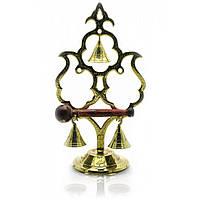 """Гонг бронзовый """"3 колокольчика"""" (22х12х8 см) 18319"""