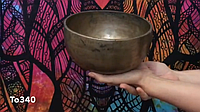 Старинная тибетская поющая чаша Тадобати (To340)