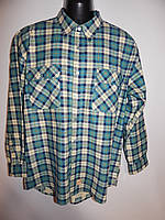 Мужская теплая рубашка с длинным рукавом Solutions р.50 021Pт