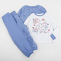 """Пижама детская George """"Жаворонок"""" для девочки, набор 2 шт, размер 92 см"""