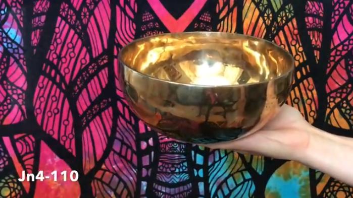 Тибетская поющая чаша (Jn4-110)