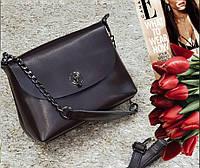 Сумка натуральная кожа SS272 кожаные сумки в коричневом