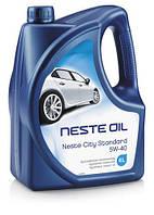 Масло мот. синт. Neste City Standard 5W40 (API SM/CF), 4л (нов. Premium + 5W-40)