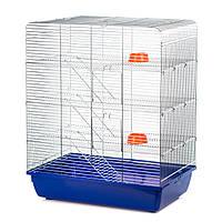 Клетка для декоративной крысы G127 REMY ZINC ™️ InterZoo (580*380*715 мм)
